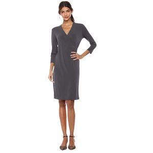 Women's Crepe Knit Faux Wrap Dress size 12